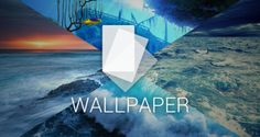 Android Wallpaper: profondo mare blu  