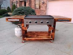 40 nice and inspiring outdoor kitchen designs 34 - kinal. Outdoor Grill Area, Outdoor Grill Station, Outdoor Kitchen Patio, Outdoor Kitchen Design, Outdoor Cooking Area, Outdoor Patios, Outdoor Kitchens, Outdoor Ideas, Bbq Stand
