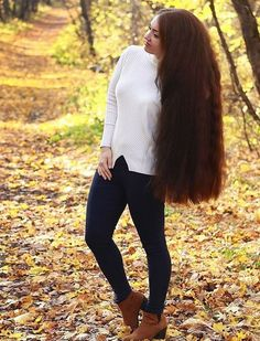 Taken a pair of clippers.and trim off 3 inches. The ends looks better Super Long Hair, Big Hair, Long Hair Drawing, Long Brown Hair, Thick Hair, Natural Hair Styles, Long Hair Styles, Beautiful Long Hair, Shoulder Length Hair