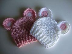 Baby Crochet Hat/Beanie Newborn Beanie with por crystalandtaylor