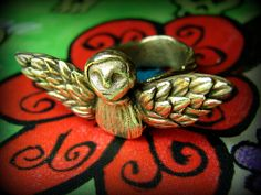 Beautiful Angel ring by Lorena Angulo.