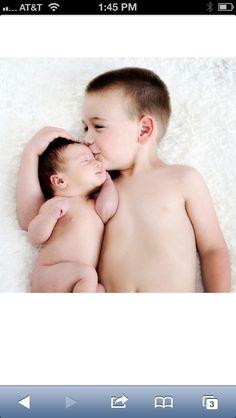 Brotherly Love:). My boys!!!