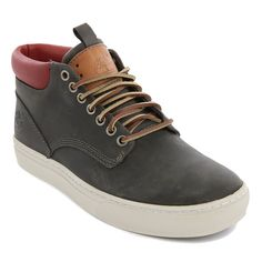 Cupsole Chukka CognacOiled Leather Shoes by timberland. Round toe shoes with laced up, rubber sole, logo on the back, light grey, camel and burgundy oiled leather. Perfect leather shoes to complete your casual style, you can pair it with your jeans and shirt.  http://www.zocko.com/z/JJTNh