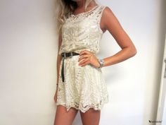 Hollow Embroidery Dress <3