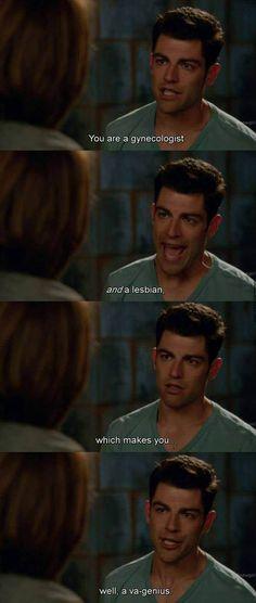 Well, Schmidt happens…