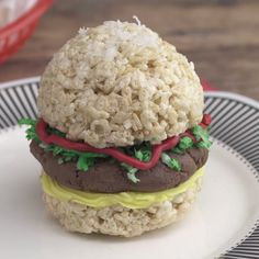 We all knew Rice Krispies treats were meant for something even greater, like this.