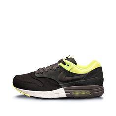 Nike Air Max 1 Premium (Black, Anthracite & Volt)