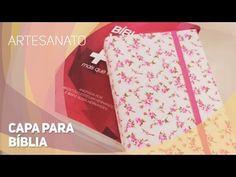Capa Para Bíblia, Agenda com Bolso e Zíper - YouTube