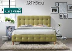 Upholstered Platform Bed Queen, Mid Century Modern Bedroom, Beds Online, Ron, Panel Bed, Alice, Bedroom Bed, Bedroom Ideas, Murphy Bed