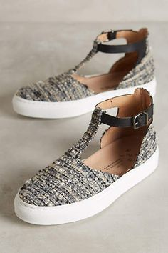 KMB T-Strap Sneakers - anthropologie.com #anthroregistry