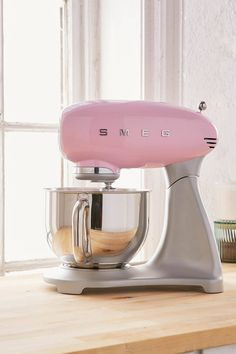 Shop SMEG Standing Mixer at Urban Outfitters today. We carry all the latest styles, colors and brands for you to choose from right here. Urban Outfitters, Stainless Steel Hood, Rose Pastel, Baking Soda Uses, Kitchen Gadgets, Kitchen Stuff, Kitchen Tools, Kitchen Supplies, Cooking Gadgets
