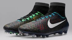 The Nike Magista Obra 2016 Black History Month Boot introduce a stunning design, set to be worn by Blaise Matuidi. The Nike Magista 2016 BHM Soccer Cleat will be launched in February as limited edition.