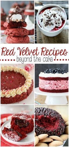 22 Red Velvet Recipes you cannot miss!