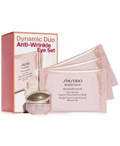 Shiseido Dynamic Duo Anti-Wrinkle Eye Set