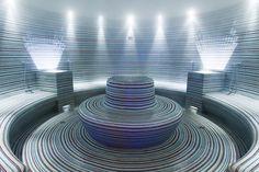 Bagno di vapore Classic – Air Steam System – Air Steam System Plus e Thalasso starpool Steam Bath, Steam Room, Massage Place, Massage Room, Foot Massage, Massage Chair, Finnish Sauna, Spa Interior, Interior Design