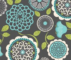 Wallpaper – by natitys – Spoonflower