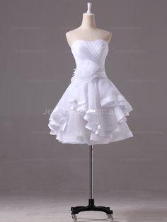 Chic Short Wedding Dress –Monica