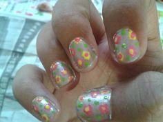 #flower #nailart