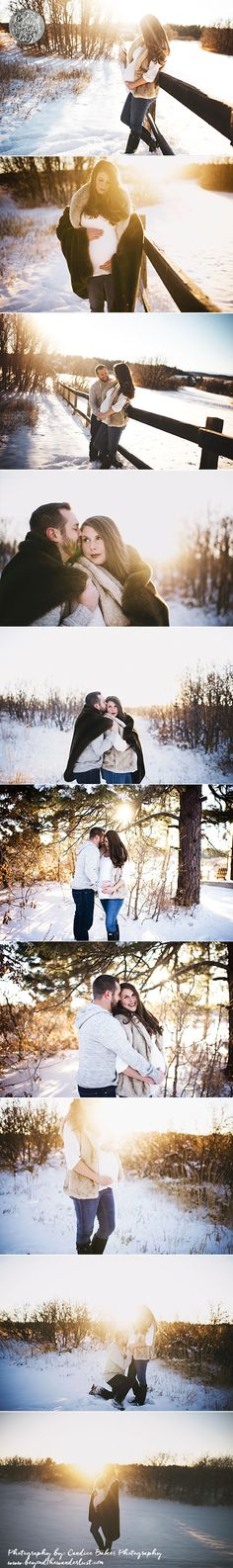 winter maternity >> snow pictures