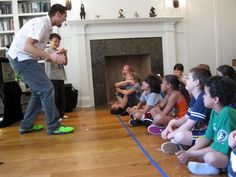 Warwick RI Birthday Party Ideas Magicians Domino The Great Gives