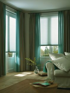 Luxaflex Duette Shades - groen