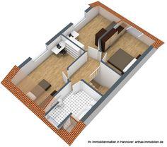 Neubauprojekt Eigentumswohnung in Hannover Davenstedt Obergeschoss- mehr dazu im Link - gepinnt vom Immobilienmakler in Hannover: arthax-immobilien.de