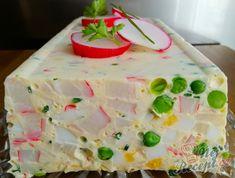Vaječná tlačenka s česnekem | NejRecept.cz Plastic Cutting Board, Krabi, Low Carb, Easter, Desserts, Hama, Deserts, Dessert, Postres