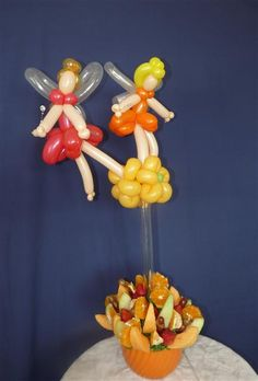 I wish I knew how to make fairy balloons!