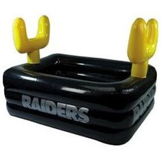 Oakland Raiders Inflatable Buffet - Black | Oakland Raiders ...