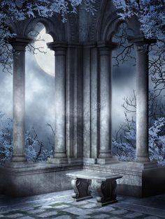 Illustration about Beautiful gothic scenery with ruined window and stone bench. Illustration of fantasy, blue, medieval - 19399839 Gothic Background, Stock Background, Blur Photo Background, Studio Background Images, Plains Background, Photo Backgrounds, Abstract Backgrounds, Stock Pictures, Stock Photos