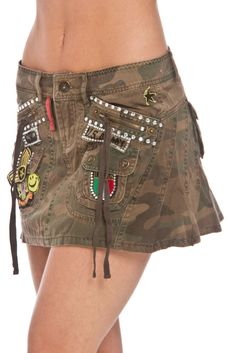 Platinum Plush Ammo Skirt in Camo - Beyond the Rack
