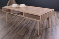 Stort sofabord i massiv træ til stuen. Dette store firkantede sofabord fra danske By Tika er i høj kvalitet. Sofabordet har gode opbevaringsmuligheder. Dining Table, Blade, Inspiration, Furniture, Coffee, Design, Home Decor, Biblical Inspiration, Kaffee