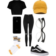 A fashion look from October 2017 featuring Topshop jeans, Vans socks and Vans sneakers. Browse and shop related looks.