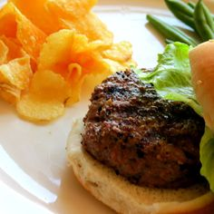 Grilled Hamburgers recipe.  Made these for dinner 4/1/13.  FANTASTIC!!!!