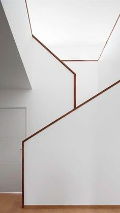 Besty Modern Minimalist Interior Design Inspiration Contemporary design refers to a time period, it's a design style that was produced in the It is a trend these days especially for those people whose main focus is the function of… Interior Staircase, Stairs Architecture, Staircase Design, Interior Architecture, Minimalist Interior, Modern Interior Design, Interior Design Inspiration, Minimalist Apartment, Modern Minimalist