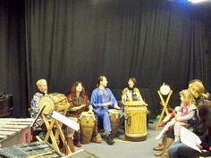 African style of drumming