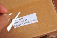 How to Mail Packages Faster: 7 Steps - wikiHow These were sensible tips. Sounds like you should use computer printed addresses & postage to have it get where its going much more fast.