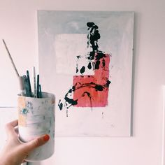 Here's to planning an arty evening and getting all my stuff done  #artlife #artist
