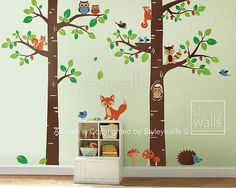 Forest Animals Wall decal Children Wall Art Decal by styleywalls