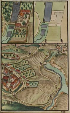 mapmonger:  Staatsbibliothek Bamberg: Paul Pfinzing, Methodus Geometrica. Nürnberg: Valentin Fuhrmann, 1598