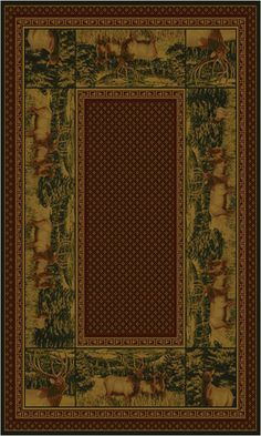 MB Closeouts Elk. AVAILABLE SIZES: 5' x 8'