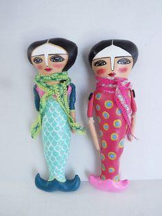 Mermaid Dolls, Mermaids, Art Dolls, Studio, Crafts, The Creation, Manualidades, Studios, Handmade Crafts