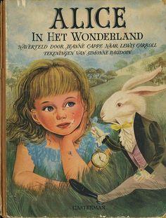 Alice in Wonderland. Year: 1953. Country: Netherlands. Illustrations: Simonne Boudoin.
