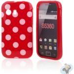 Silicon Hoesje voor Samsung S5360 Galaxy Y Red Love