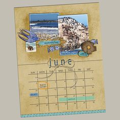Create Calendar Pages in Photoshop & Photoshop Elements