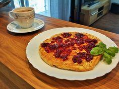 omlet z płatkami owsianymi