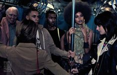 FAB Editorial: Liya Kebede and David Agbodji in Vogue Japan April 2013