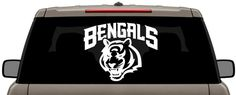 Cincinnati Bengals NFL Football Logo Vinyl Decal Multiple Colors x to by CCHobby on Etsy Cincinnati Bengals, Nfl Football, Chevrolet Logo, Vinyl Decals, Colors, Etsy, Colour, Color, Paint Colors