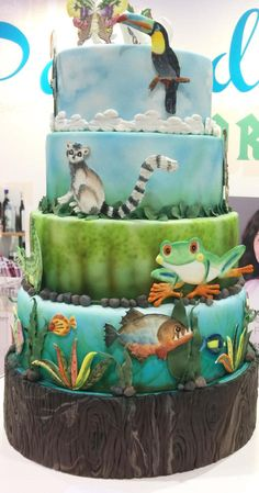 Rain Forest by Blossom Cakes