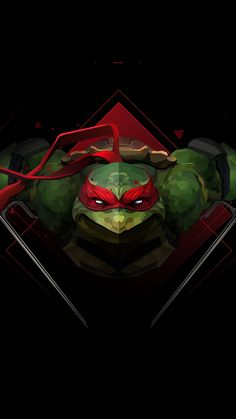 """Raphael"" Killer ideas in the first installation of Suggestathon but had to go with request to do my favourite TMNT! Tmnt Wallpaper, Dark Wallpaper, Ninja Turtles Art, Teenage Mutant Ninja Turtles, Ninja Turtle Raphael, Teenage Turtles, Turtles Forever, 4k Background, Arte Dc Comics"